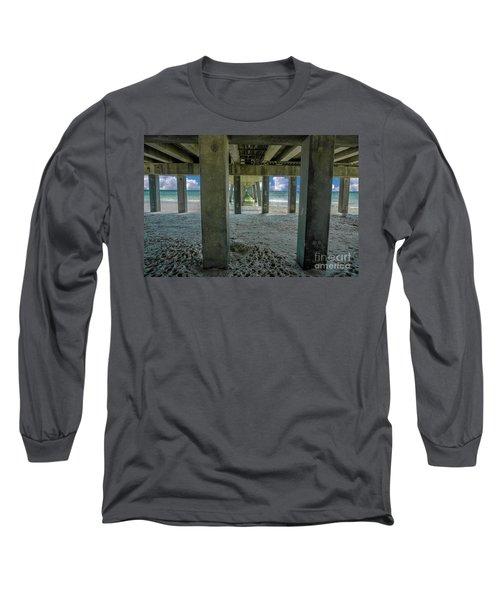 Gulf Shores Park And Pier Al 1649 Long Sleeve T-Shirt