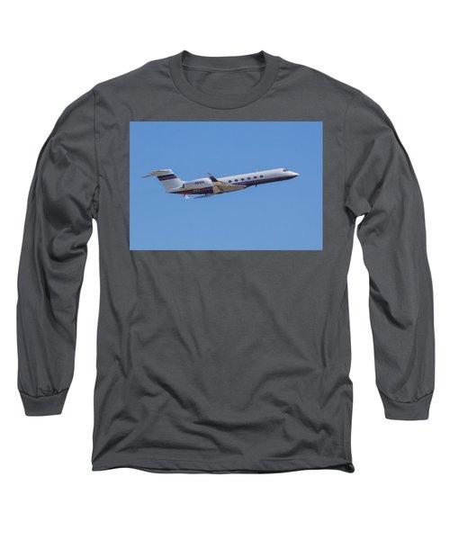 Gulfstream Gv Private Jet Long Sleeve T-Shirt