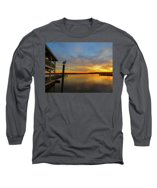 Gull Sunset Long Sleeve T-Shirt