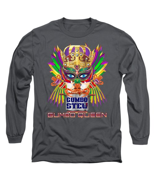 Gumbo Queen 1 All Products  Long Sleeve T-Shirt