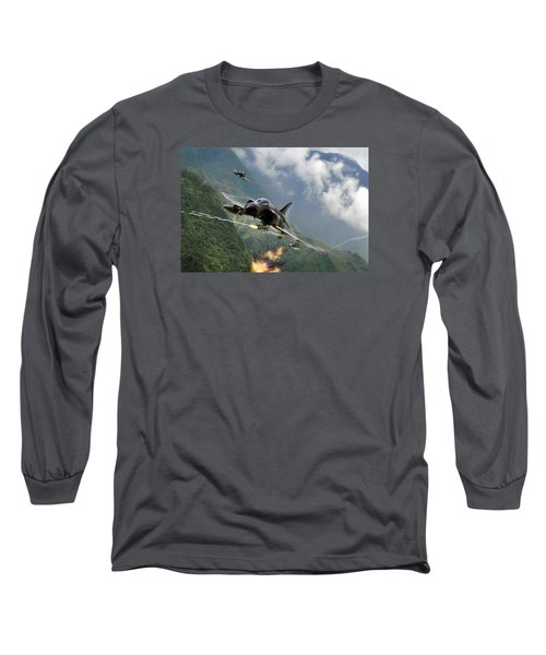 Gunfighters Long Sleeve T-Shirt by Peter Chilelli
