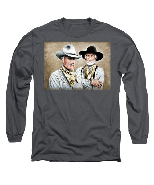 Gus And Woodrow Colour Ver Long Sleeve T-Shirt