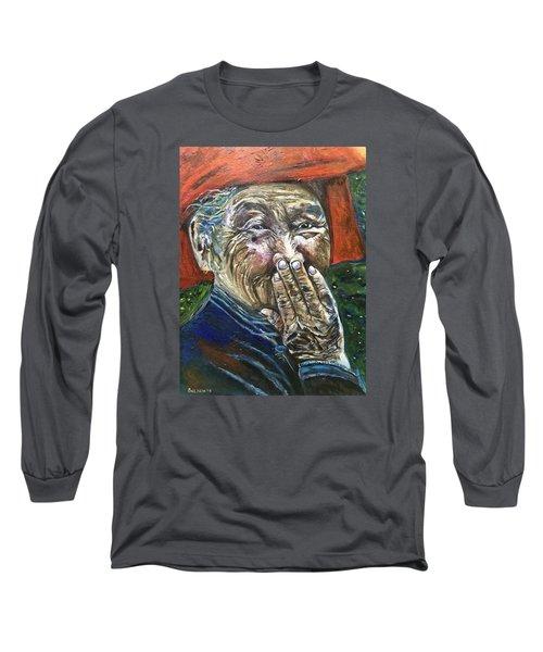 H A P P Y Long Sleeve T-Shirt
