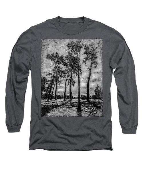 Hagley Park Treescape Long Sleeve T-Shirt