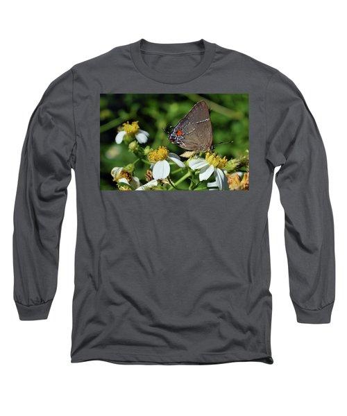 Hairstreak Butterfly Long Sleeve T-Shirt