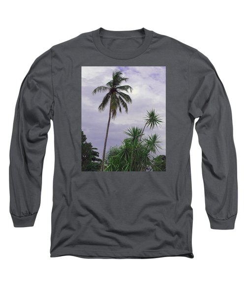 Haiti Where Are All The Trees Long Sleeve T-Shirt by B Wayne Mullins