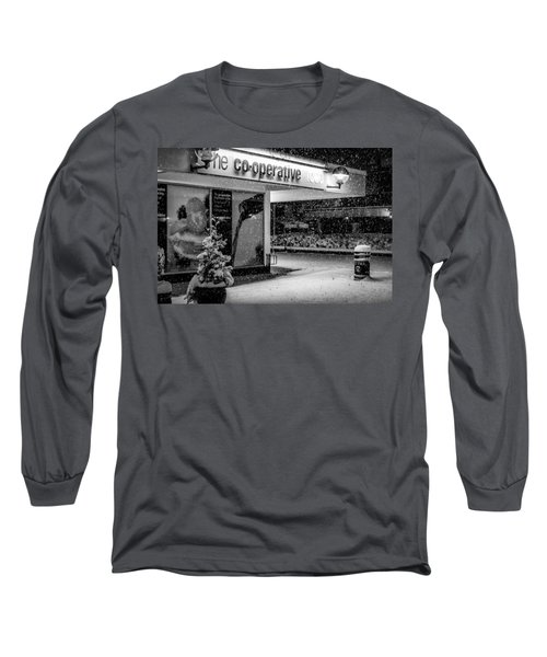 Hale Barns Co-op In The Snow Long Sleeve T-Shirt