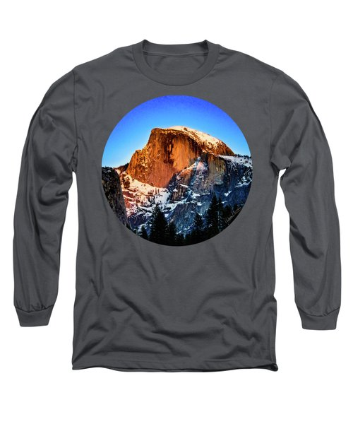 Half Dome Aglow Long Sleeve T-Shirt