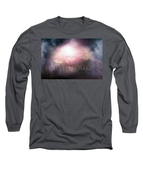 Halleluyah Long Sleeve T-Shirt by Bill Stephens