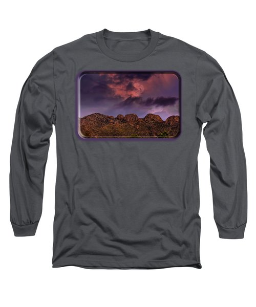 Hallow Moon Long Sleeve T-Shirt by Mark Myhaver