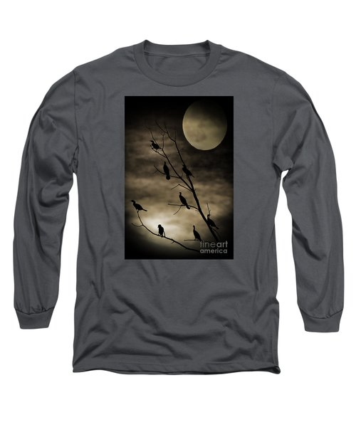 Guardians Of The Lake Long Sleeve T-Shirt by Elizabeth Winter