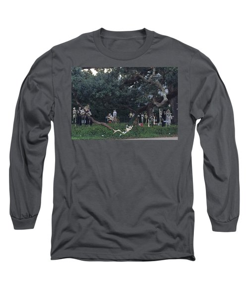 Halloween Yard Party Long Sleeve T-Shirt