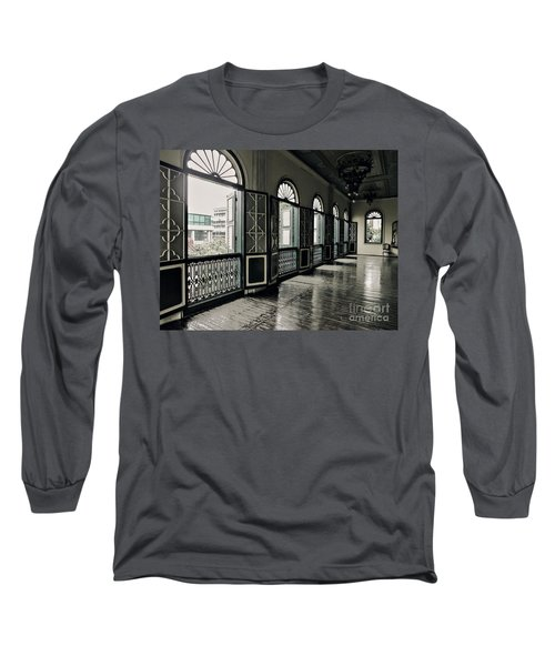 Hallway Long Sleeve T-Shirt by Charuhas Images
