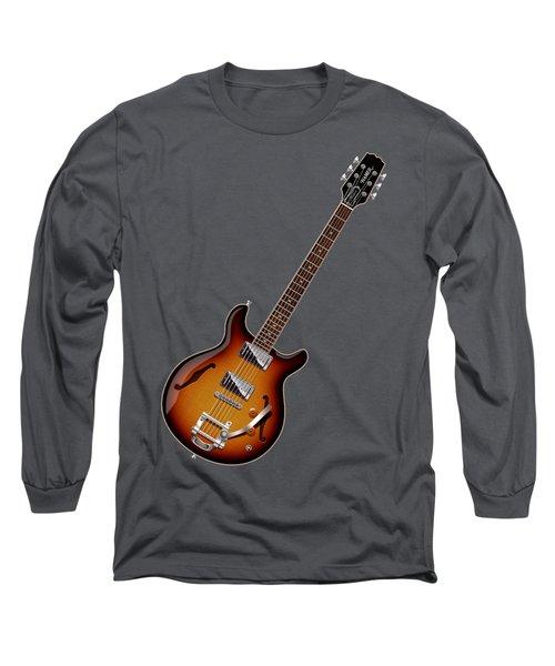 Long Sleeve T-Shirt featuring the digital art Hamer Newport Shirt by WB Johnston