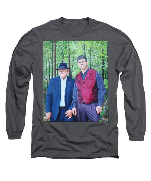 Hamilton Portrait Long Sleeve T-Shirt