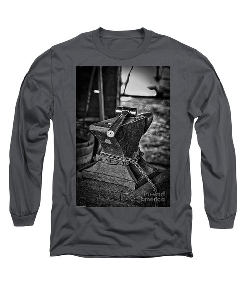 Hammer And Anvil Long Sleeve T-Shirt