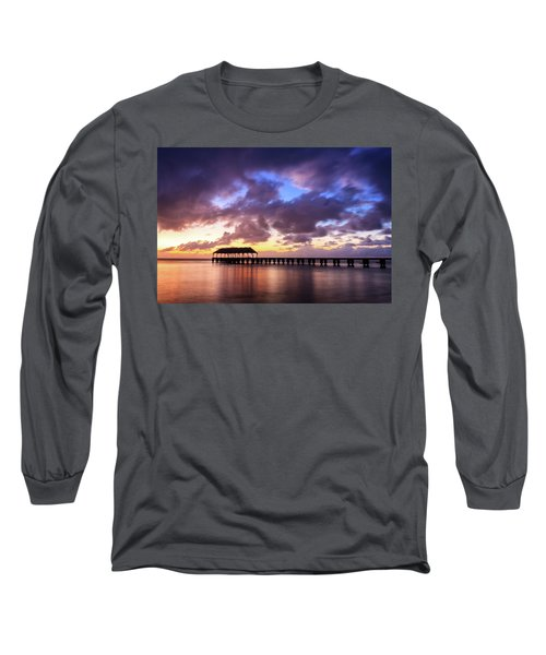 Hanalei Pier Long Sleeve T-Shirt