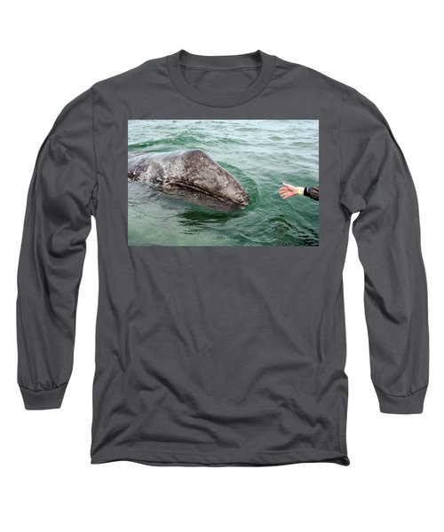 Hand Across The Waters Long Sleeve T-Shirt