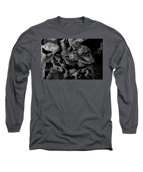 Hand Feeding Long Sleeve T-Shirt