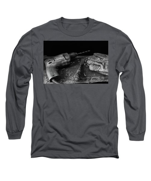 Long Sleeve T-Shirt featuring the photograph Hand Tools 3 by Richard Rizzo