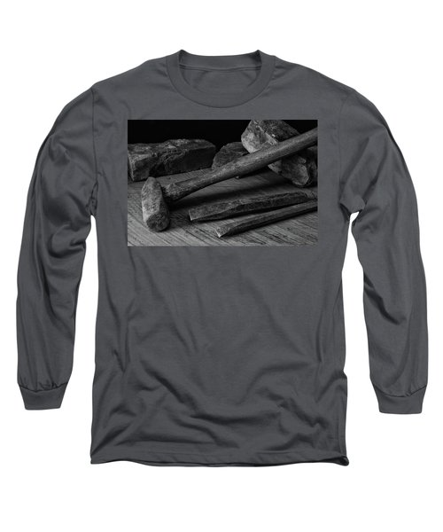 Long Sleeve T-Shirt featuring the photograph Hand Tools 4 by Richard Rizzo