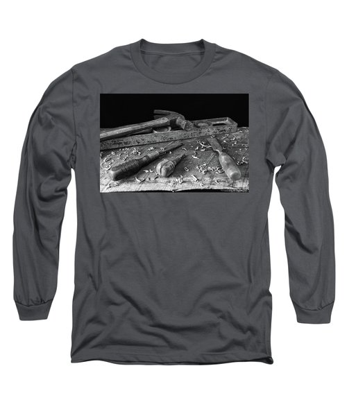 Long Sleeve T-Shirt featuring the photograph Hand Tools 2 by Richard Rizzo