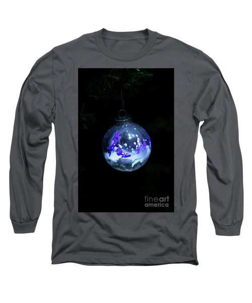 Handpainted Ornament 001 Long Sleeve T-Shirt by Joseph A Langley