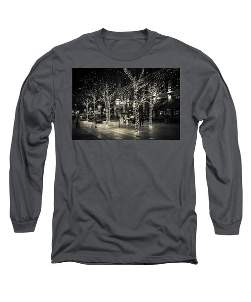 Handsome Cab In Monochrome Long Sleeve T-Shirt
