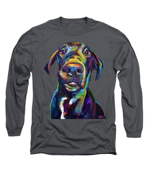 Handsome Hank The Great Dane Long Sleeve T-Shirt