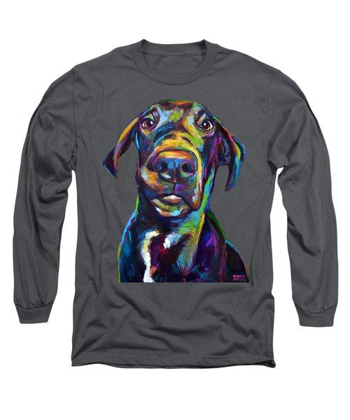 Handsome Hank The Great Dane Long Sleeve T-Shirt