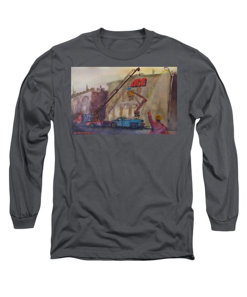 Hanging Ace #1 Long Sleeve T-Shirt