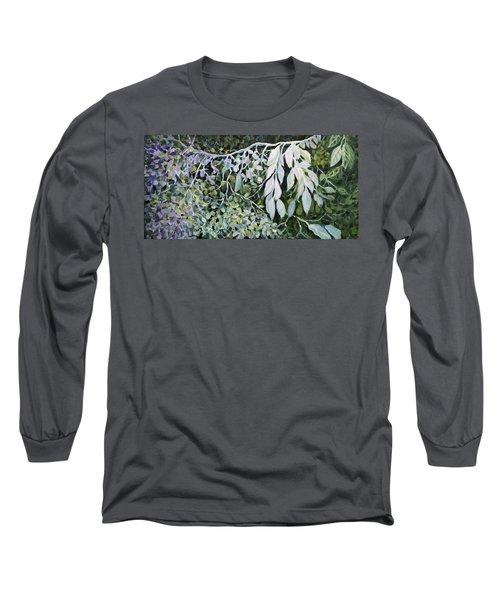 Silver Spendor Long Sleeve T-Shirt by Joanne Smoley