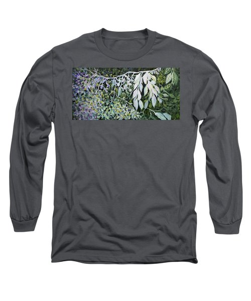 Silver Spendor Long Sleeve T-Shirt