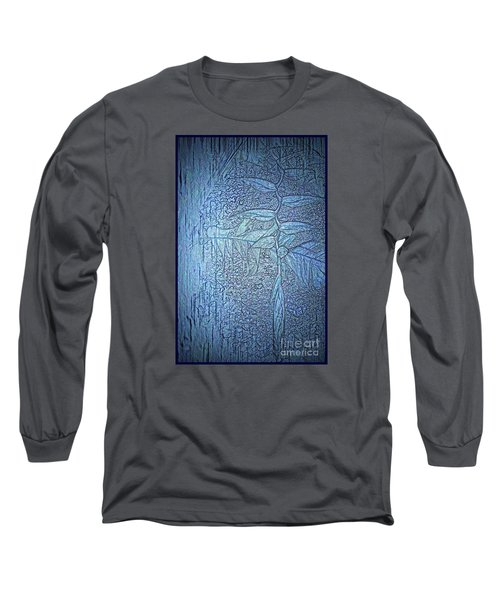 Long Sleeve T-Shirt featuring the photograph Hanging In Blue by Pamela Blizzard