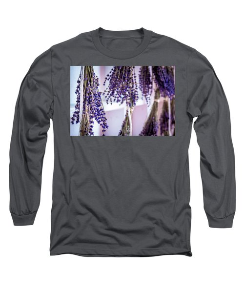 Hanging Lavender Long Sleeve T-Shirt