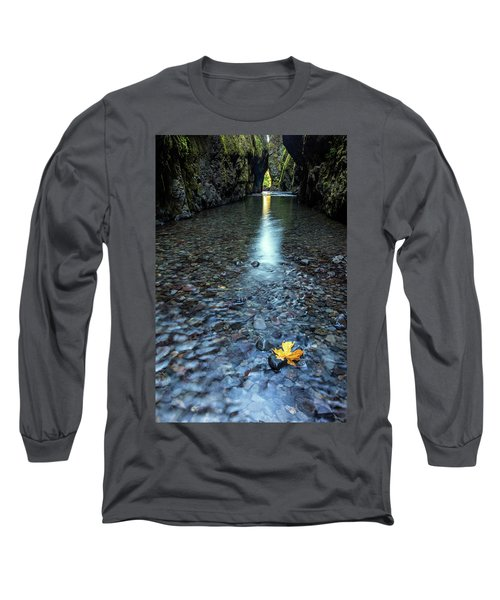Long Sleeve T-Shirt featuring the photograph Hanging On by Pierre Leclerc Photography