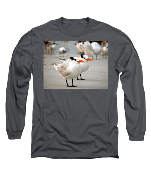 Hanging Out On The Beach Long Sleeve T-Shirt