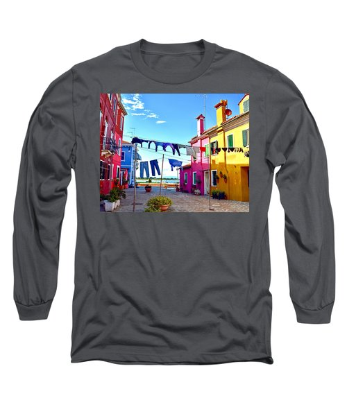 Hung Out To Dry Long Sleeve T-Shirt