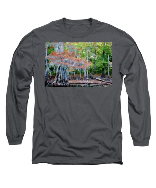 Long Sleeve T-Shirt featuring the photograph Hanging Rust by Lana Trussell