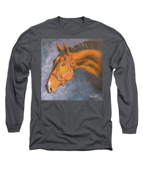 Hanoverian Warmblood Sport Horse Long Sleeve T-Shirt