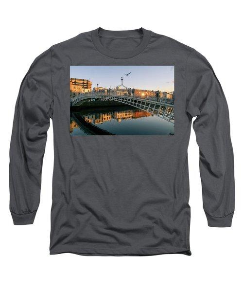Ha'penny Bridge Long Sleeve T-Shirt