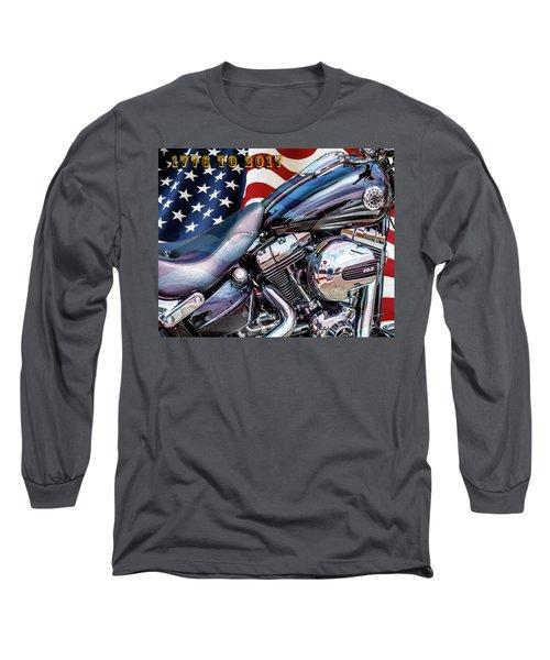 Happy Birthday America Long Sleeve T-Shirt