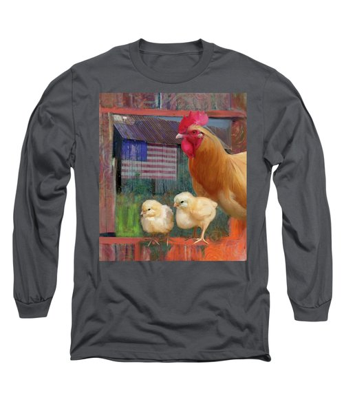 Happy Chicken  Long Sleeve T-Shirt