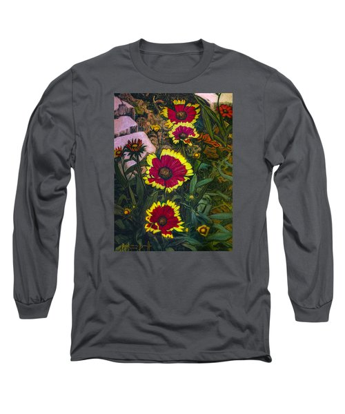 Happy Faces Long Sleeve T-Shirt by Ron Richard Baviello