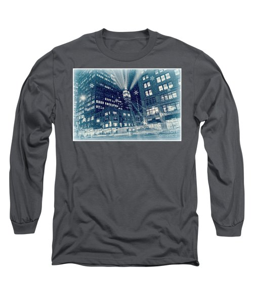 Happy Holidays From New York City Long Sleeve T-Shirt