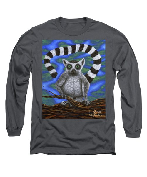Happy Lemur Long Sleeve T-Shirt