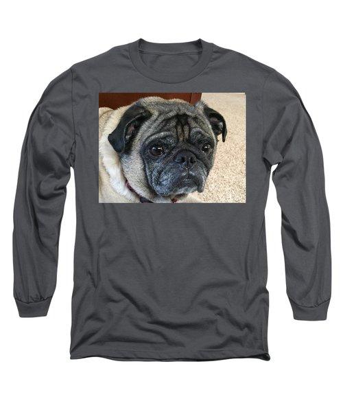 Happy Pug Long Sleeve T-Shirt