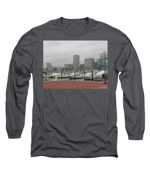 Harbor Happiness Long Sleeve T-Shirt