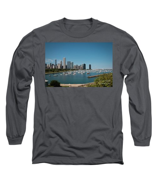 Harbor Parking In Chicago Long Sleeve T-Shirt