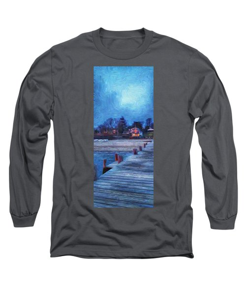 Harbormasters Office Owen Park Long Sleeve T-Shirt